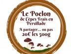 Photo Le Poelon de Cèpes Frais en Persillade 500 g - La Vieille Auberge